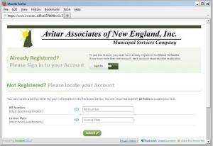 Invoice Cloud Customer Search